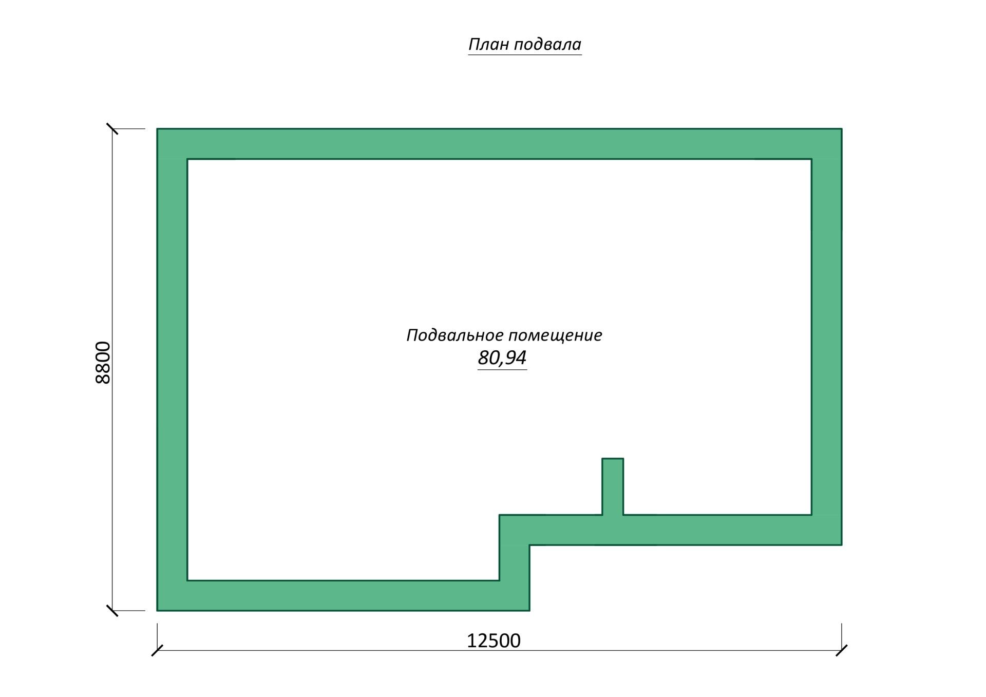 проект одноэтажного дома из кирпича блоков
