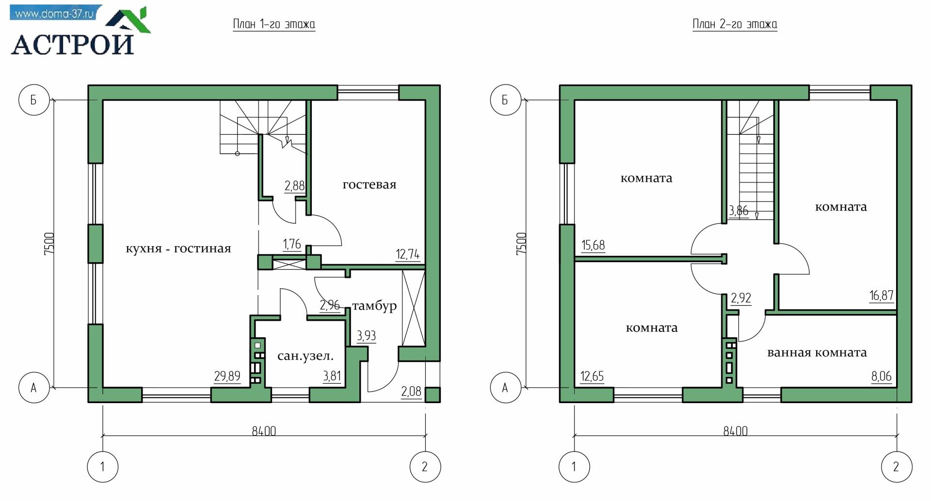 строительство дома под ключ проекты цены домов в Иваново